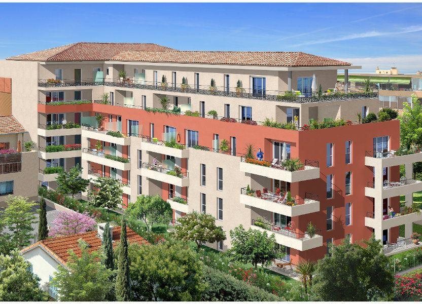Appartement à vendre 34.72m2 à Saint-Laurent-du-Var