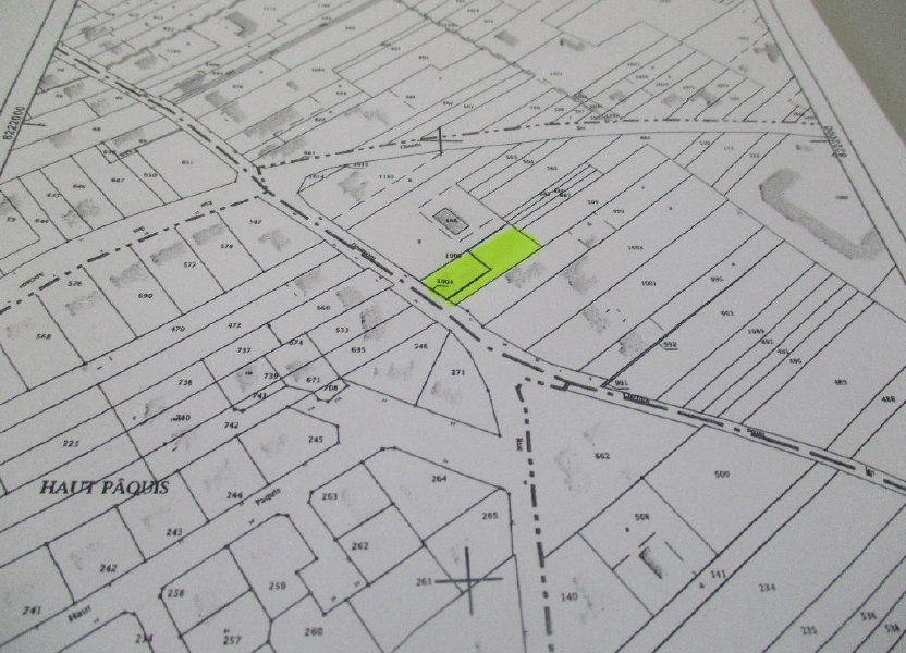 Terrain à vendre 420m2 à Belleville-sur-Meuse