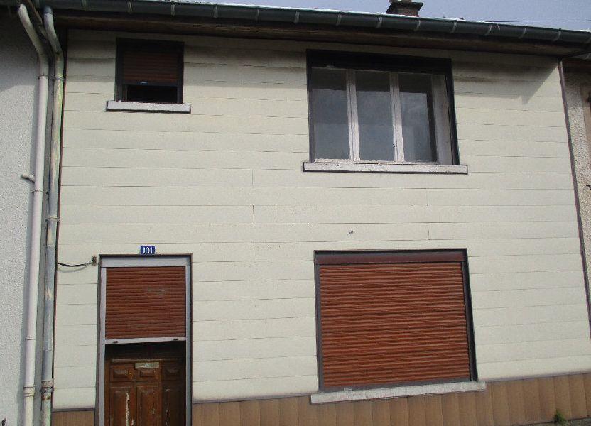 Maison à vendre 80m2 à Sivry-sur-Meuse