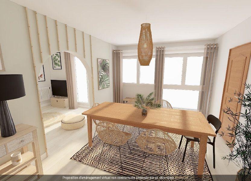 Appartement à vendre 77m2 à Vandoeuvre-lès-Nancy