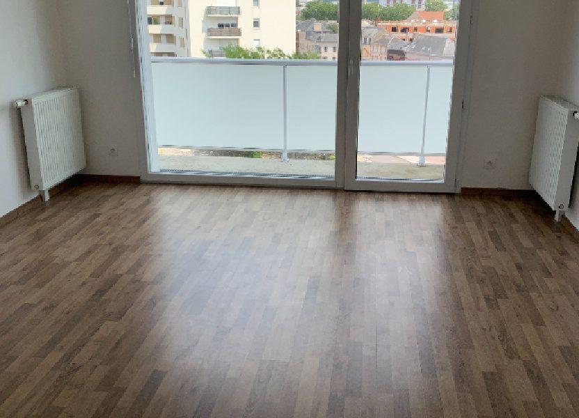 Appartement à louer 43.63m2 à Le Petit-Quevilly