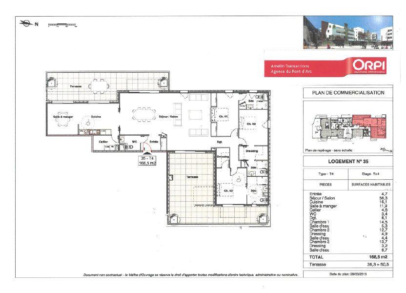 Appartement à vendre 168.5m2 à Alès