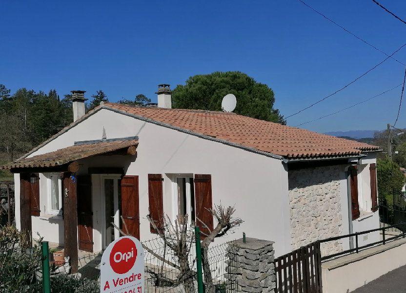 Maison à vendre 70m2 à Vallon-Pont-d'Arc