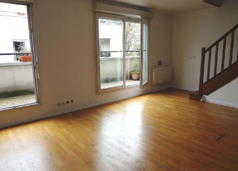 Appartement à louer 59.72m2 à Pantin