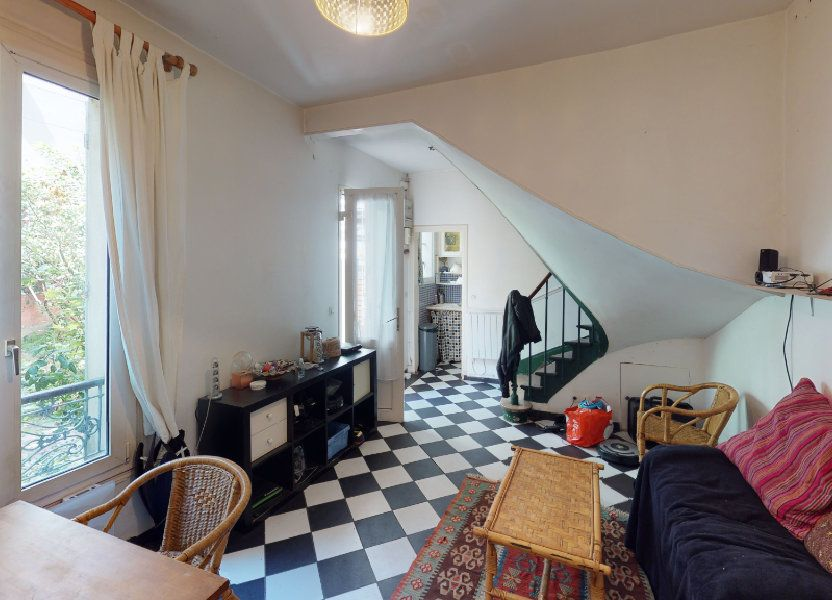 Maison à vendre 47.03m2 à Paris 19