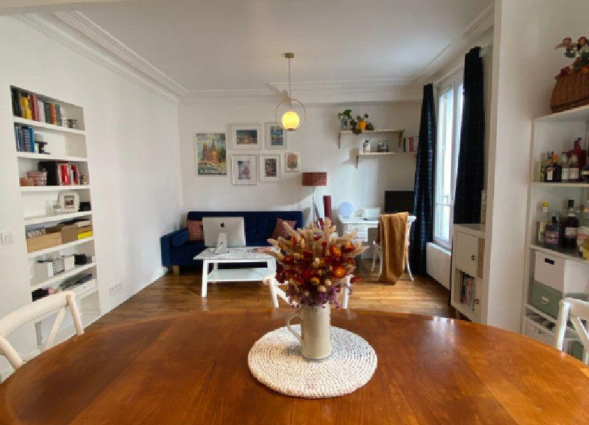 Appartement à louer 44.3m2 à Pantin