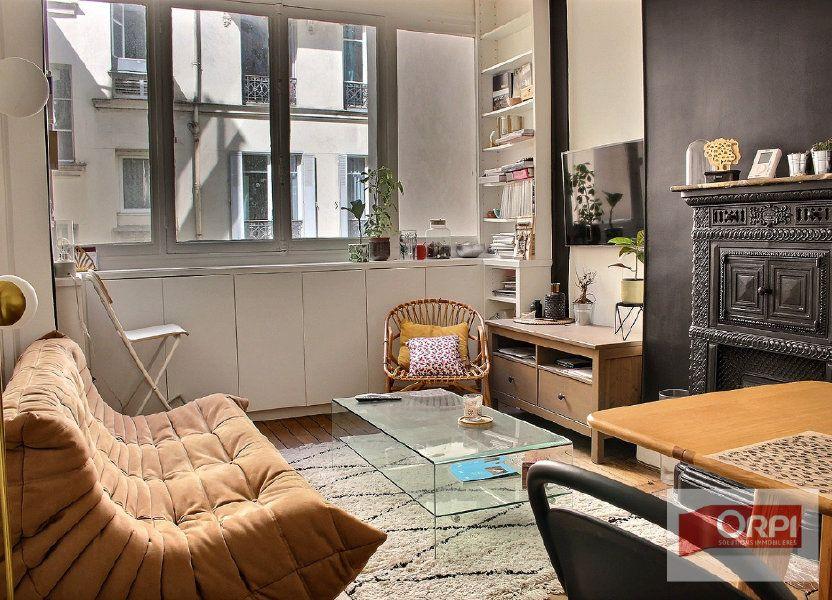 Appartement à vendre 38m2 à Paris 19