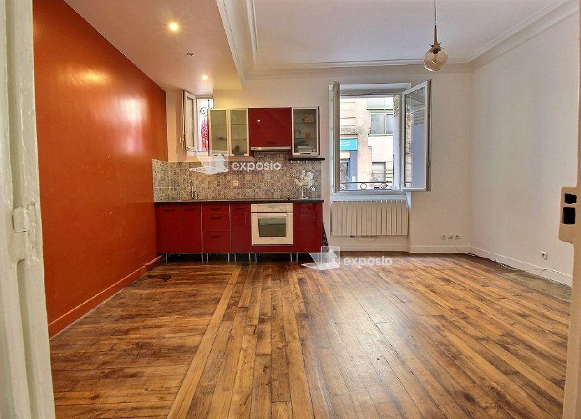 Appartement à vendre 39.41m2 à Paris 19