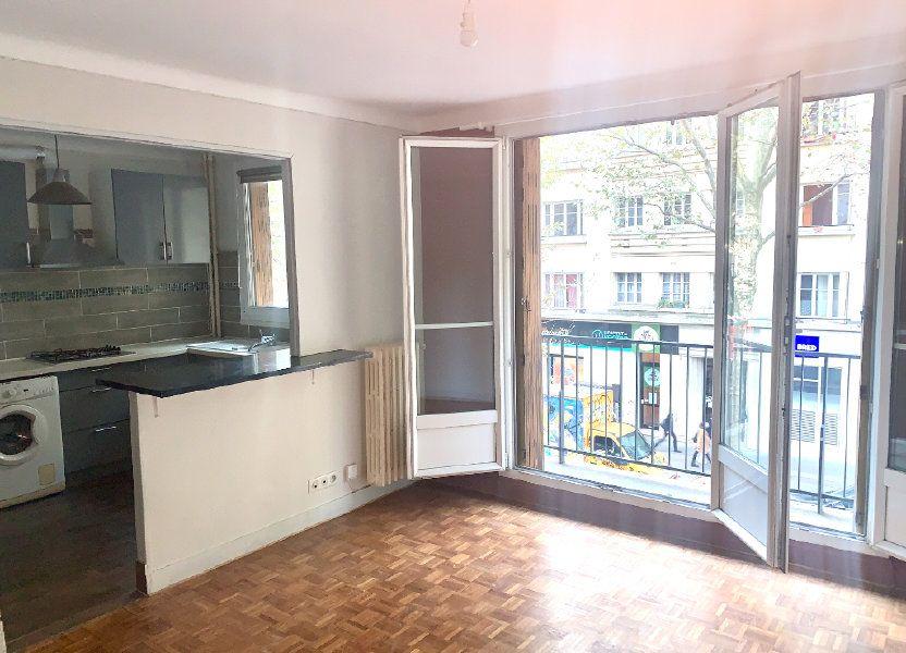 Appartement à louer 43.75m2 à Paris 20