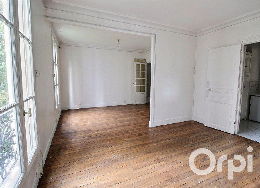 Appartement à vendre 53m2 à Paris 19