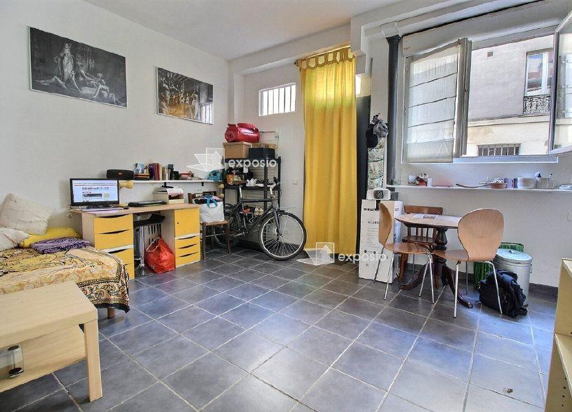 Appartement à vendre 22m2 à Paris 19
