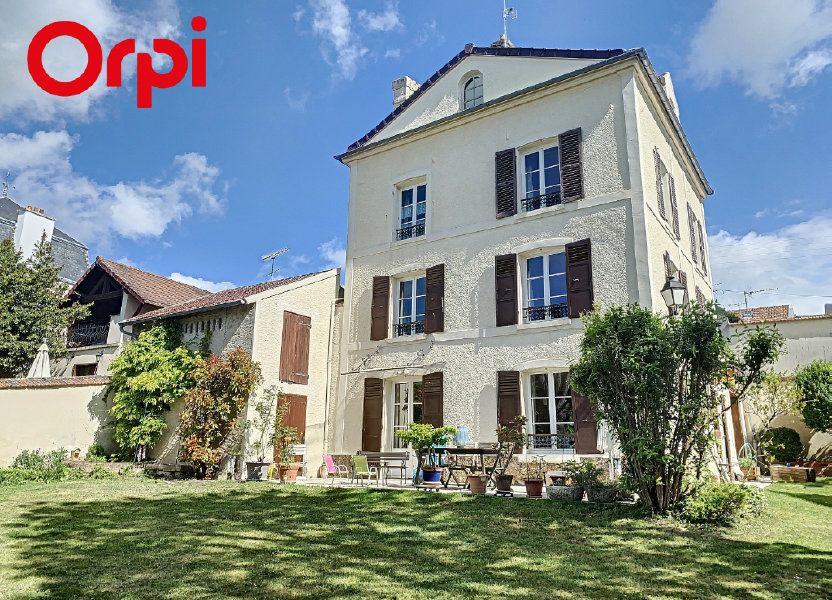 Maison à vendre 186m2 à Mézy-sur-Seine