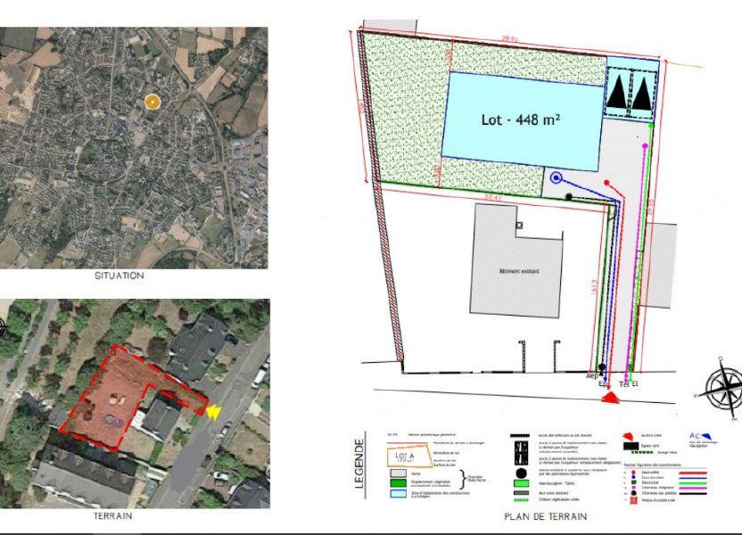 Terrain à vendre 448m2 à Guérande