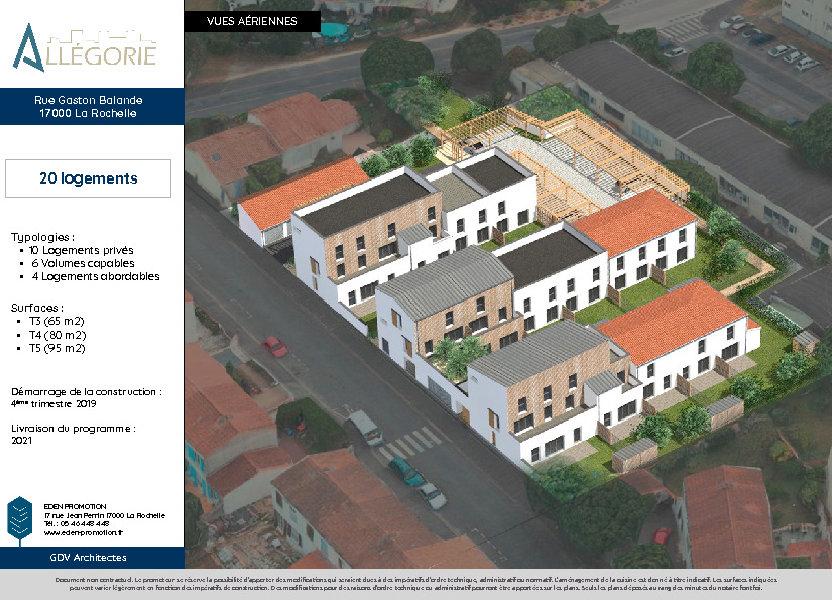 Appartement à vendre 97.7m2 à La Rochelle