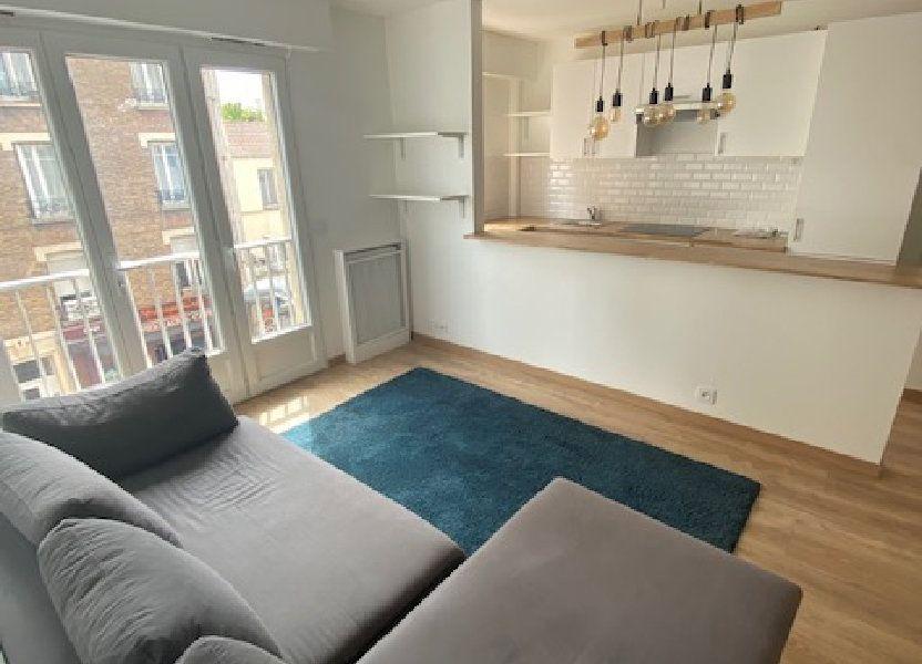 Appartement à louer 42.35m2 à Aubervilliers