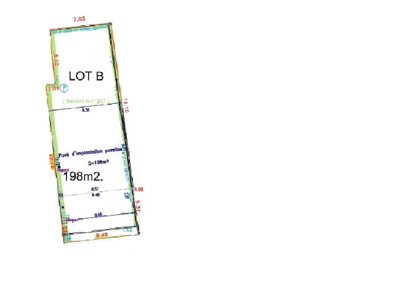 Terrain à vendre 198m2 à Aubervilliers