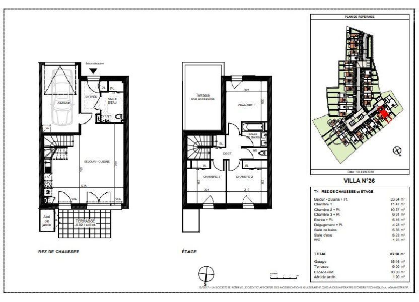 Maison à vendre 87.58m2 à Saint-Sébastien-sur-Loire
