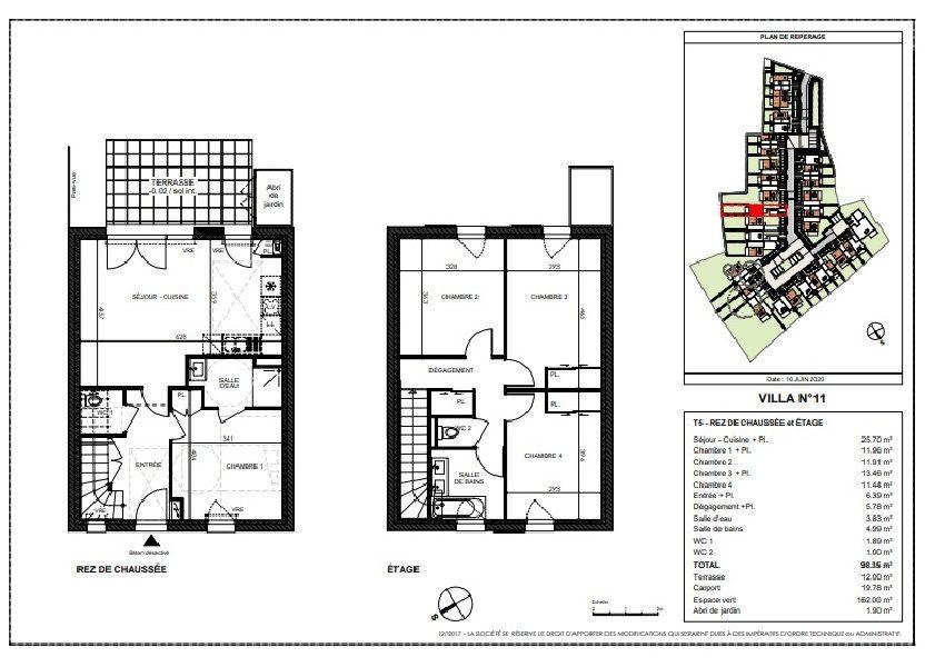 Maison à vendre 98.35m2 à Saint-Sébastien-sur-Loire