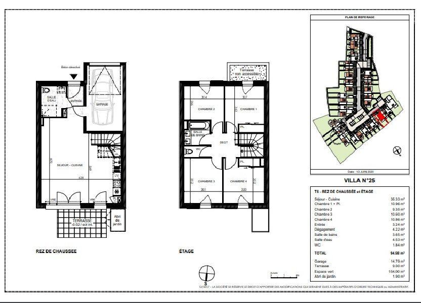 Maison à vendre 94.58m2 à Saint-Sébastien-sur-Loire