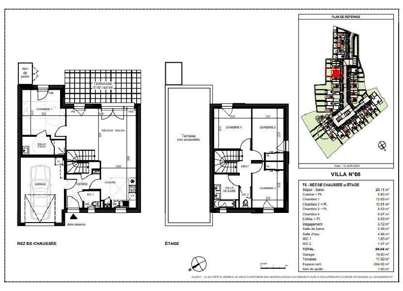 Maison à vendre 99.84m2 à Saint-Sébastien-sur-Loire