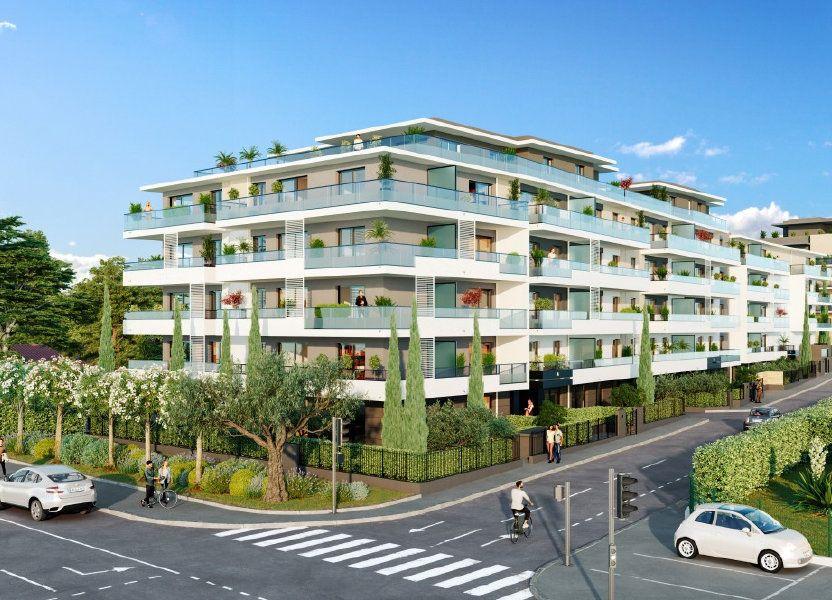 Appartement à vendre 58.95m2 à Cagnes-sur-Mer