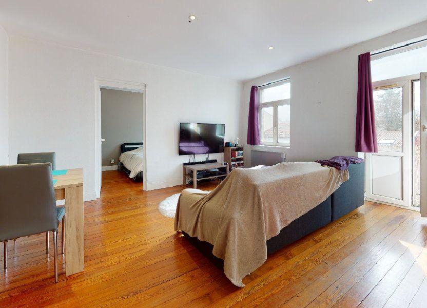 Appartement à louer 54.54m2 à Moulins-lès-Metz