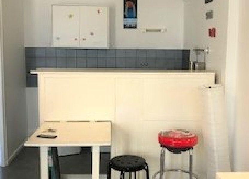 Appartement à louer 26.6m2 à Lyon 8