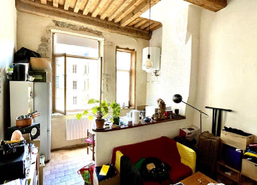 Appartement à vendre 23m2 à Lyon 4