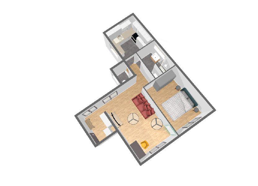 Appartement à vendre 45m2 à Paris 14