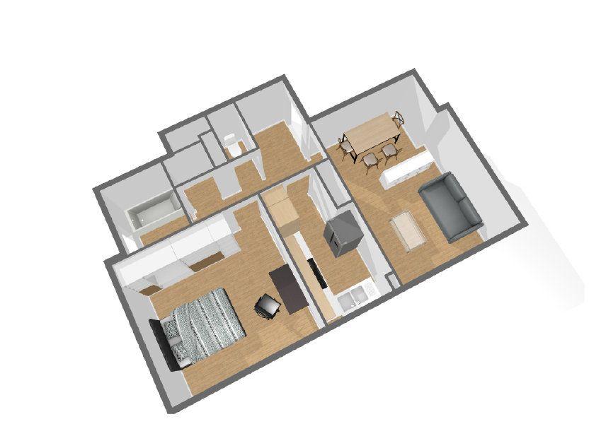 Appartement à vendre 51.1m2 à Paris 11