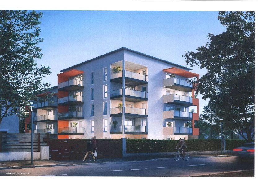 Appartement à vendre 77.02m2 à Rumilly