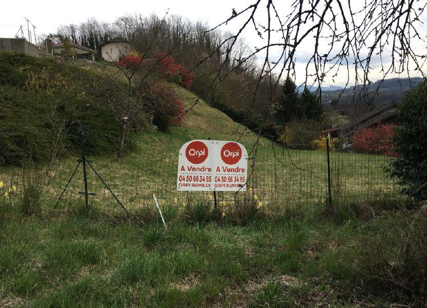 Terrain à vendre 1124m2 à Hauteville-sur-Fier