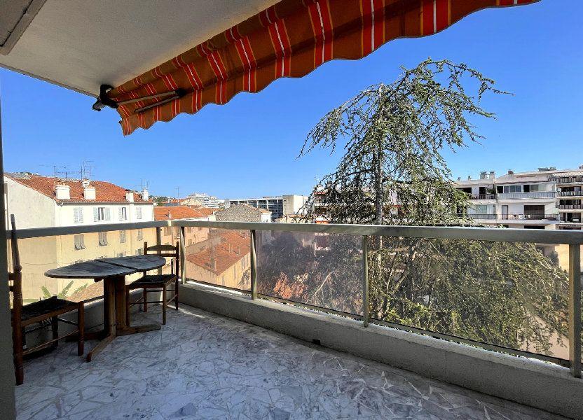 Appartement à vendre 44.7m2 à Cannes