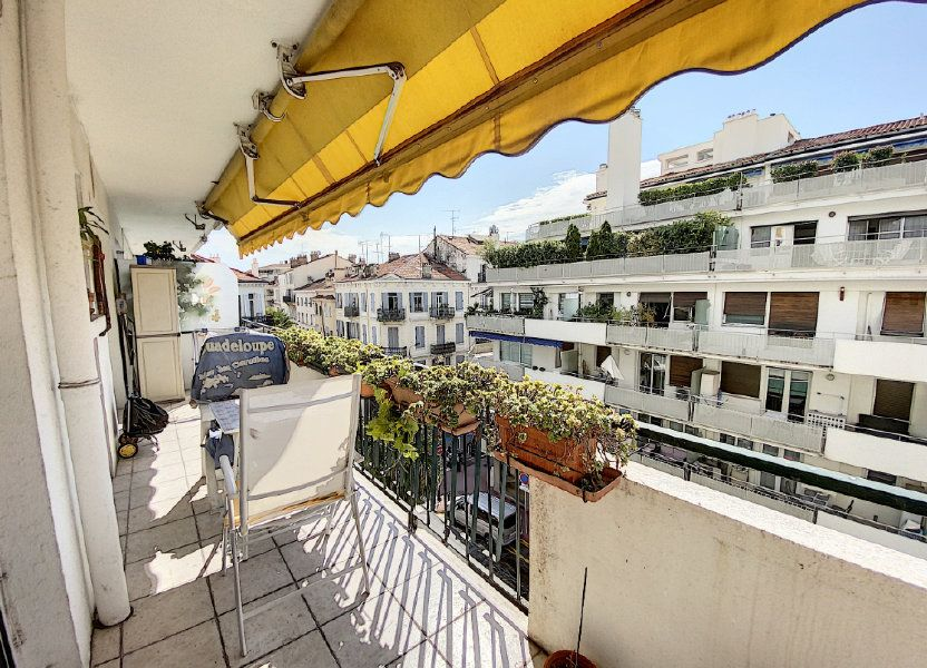 Appartement à vendre 54.22m2 à Cannes
