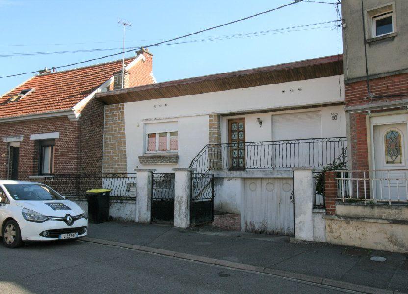 Maison à vendre 77m2 à Tergnier