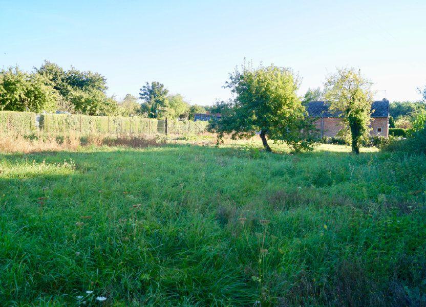 Terrain à vendre 1240m2 à Aulnois-sous-Laon
