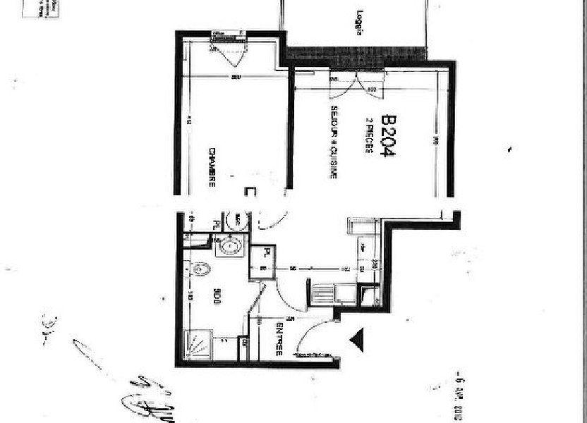 Appartement à louer 42.95m2 à Bussy-Saint-Georges