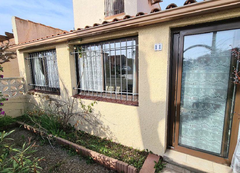 Maison à vendre 60m2 à Le Barcarès