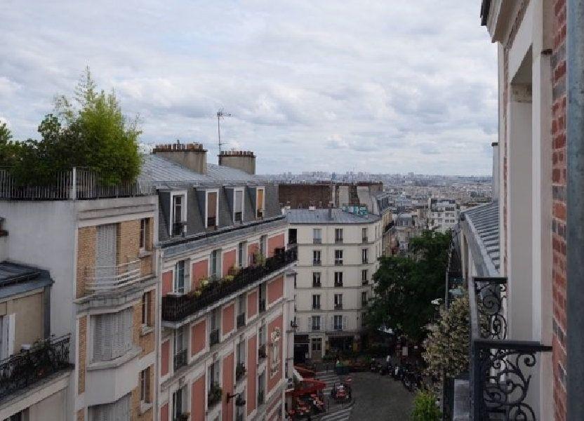Appartement à louer 50m2 à Paris 18