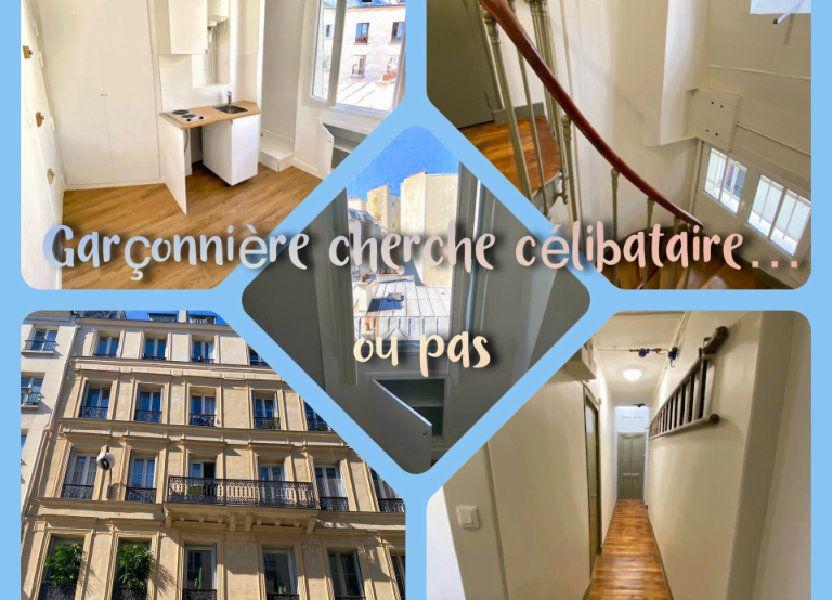 Appartement à vendre 7.85m2 à Paris 18