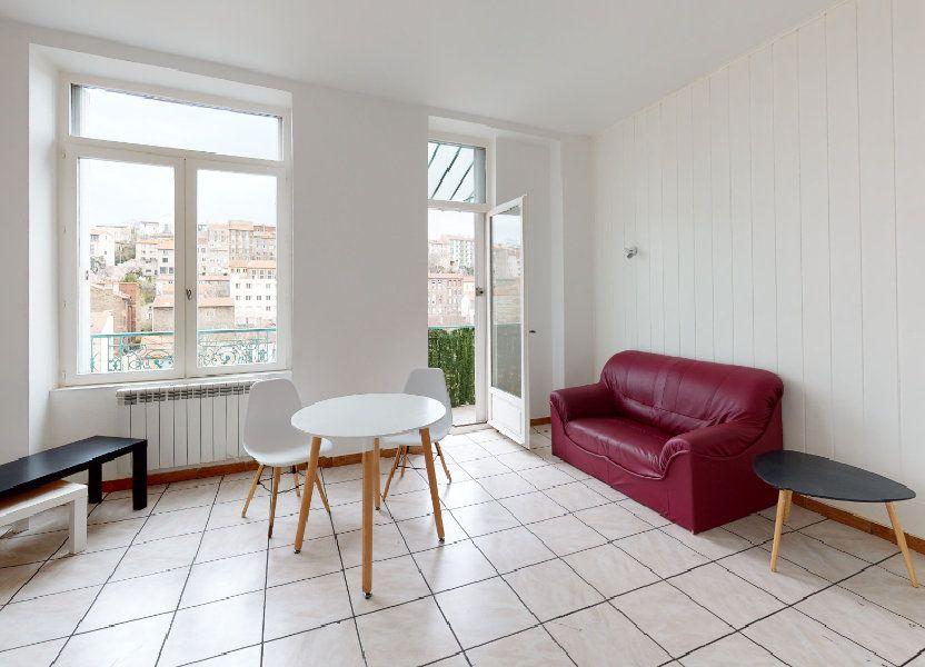 Appartement à louer 38m2 à Saint-Étienne