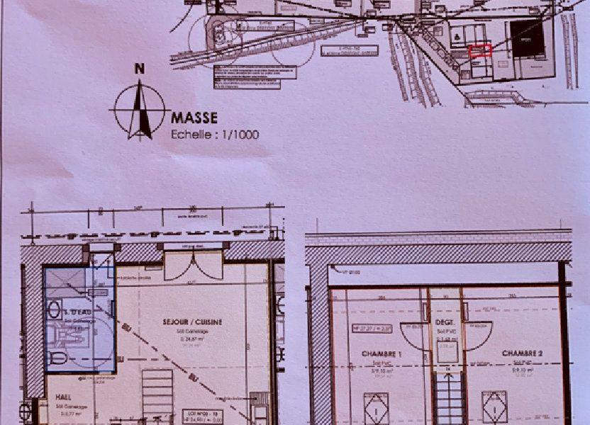 Maison à vendre 56.96m2 à La Baule-Escoublac