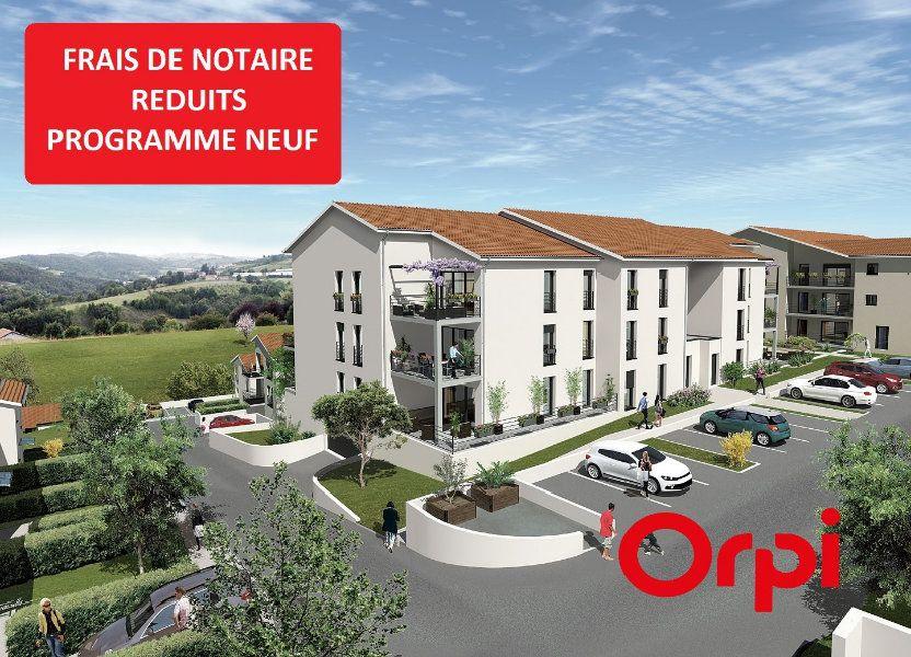 Appartement à vendre 83.22m2 à Thurins