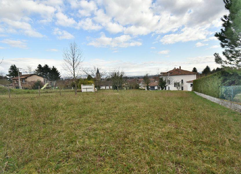 Terrain à vendre 1385m2 à Villieu-Loyes-Mollon