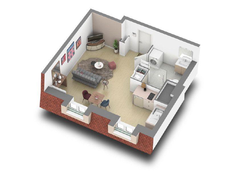 Appartement à vendre 27.66m2 à Le Blanc-Mesnil
