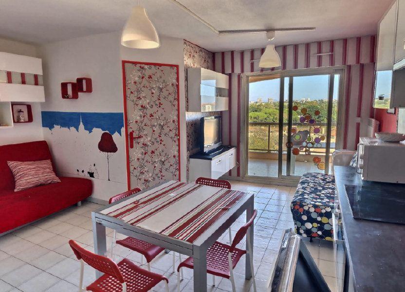 Appartement à louer 32m2 à Golfe Juan - Vallauris
