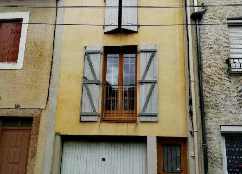 Maison à vendre 80m2 à Limoux