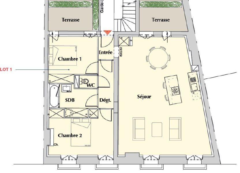 Appartement à vendre 86m2 à Bordeaux