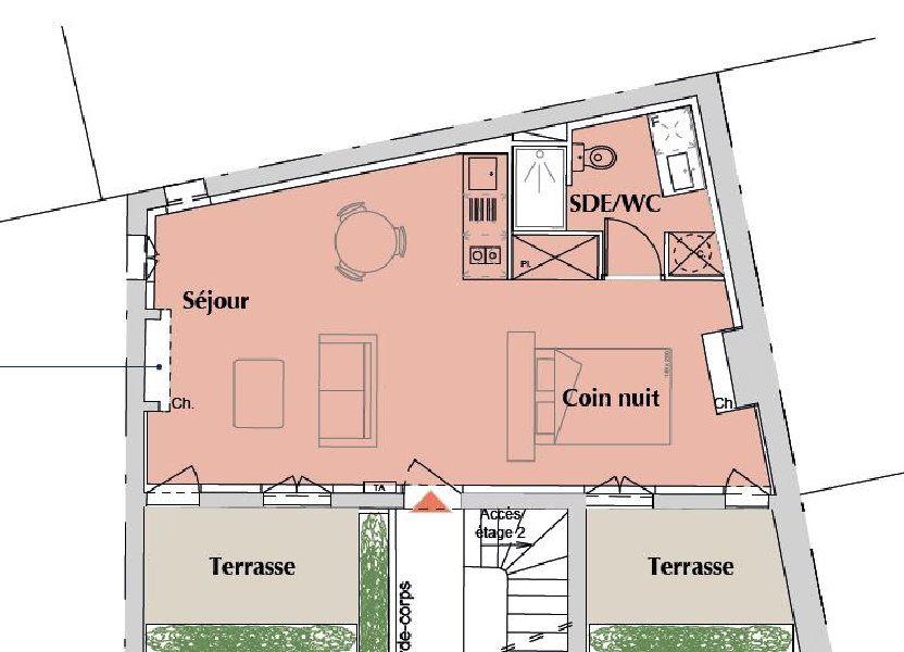 Appartement à vendre 39m2 à Bordeaux