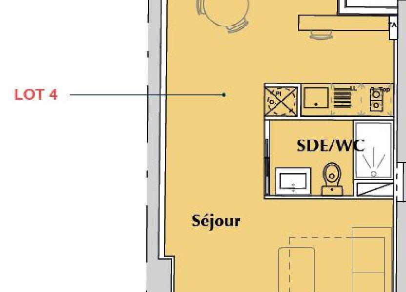 Appartement à vendre 35.2m2 à Bordeaux